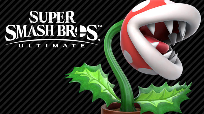 Piranha Plant DLC Smash Bros Ultimate