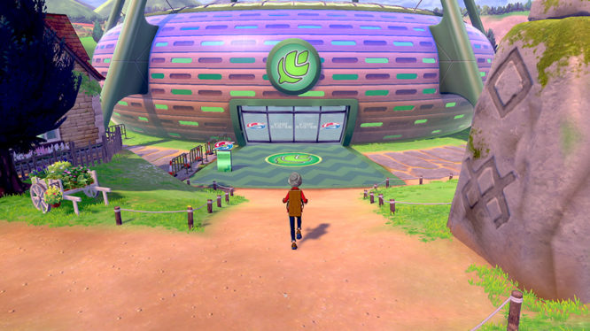 Pokemon Sword and Shield Screenshot
