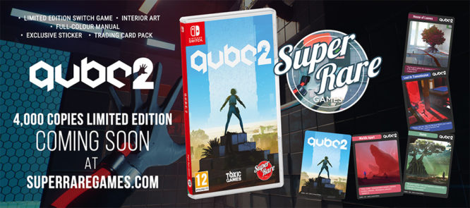 QUBE 2 Physical Release Nintendo Switch