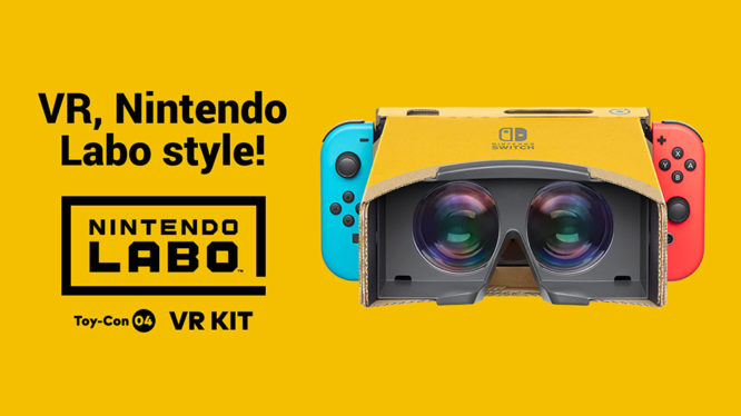 Nintendo Switch VR Labo Kit