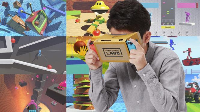 Nintendo Labo VR Kit Games Switch