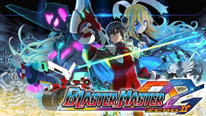 Blaster Master Zero 2 Nintendo Switch Artwork