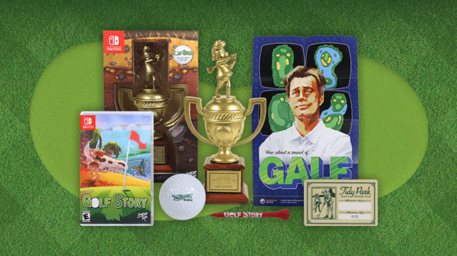 Golf STory Collector's Edition Switch Fangamer