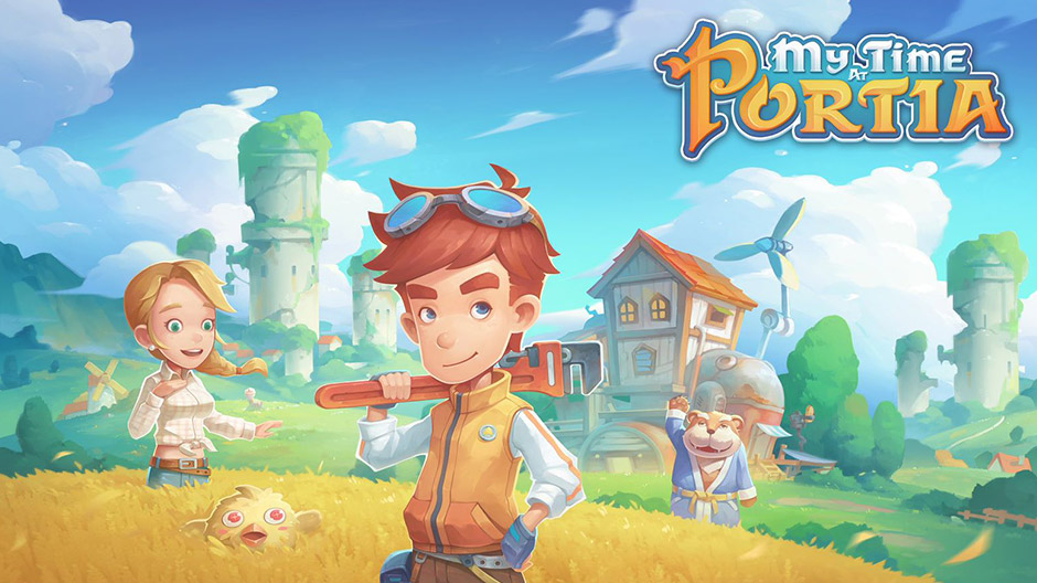 My Time at Portia Nintendo Switch art
