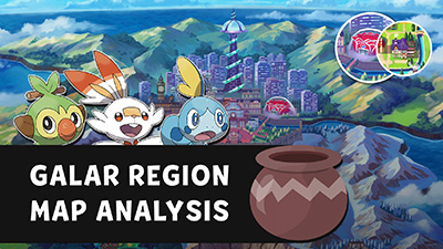 Pokémon Sword & Shield - Galar Region Map Analysis Video