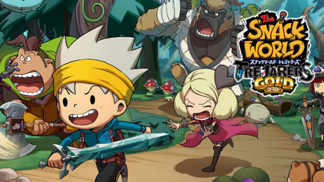 Snack World Trejarers Gold Switch