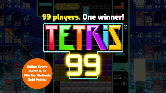 Tetris 99 Online Event Gold Points
