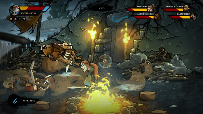 Wulverblade Nintendo Switch Screenshot