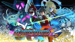 Blaster Master Zero 2 Nintendo Switch Keyart and Logo