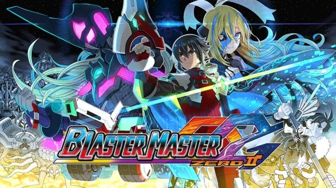 Blaster Master Zero 2 Nintendo Switch Keyart and Logo