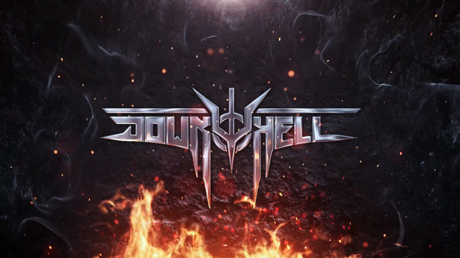 Down to Hell Logo Keyart