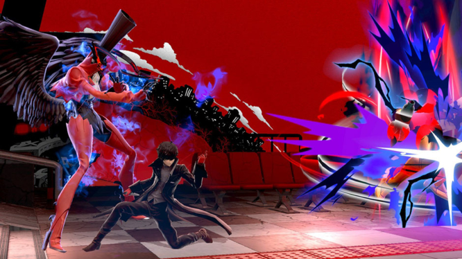 Persona 5's Joker joins the fight!