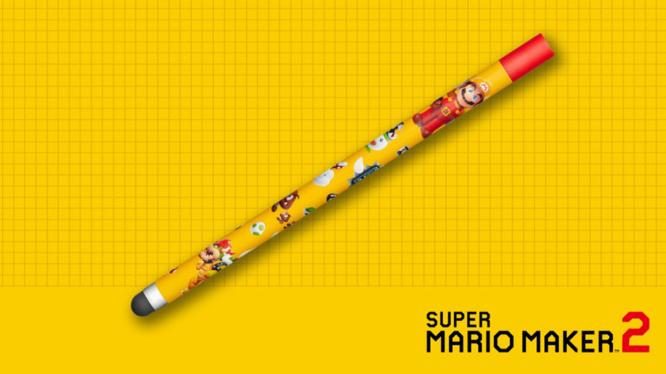 Mario Maker 2 Stylus Preorder Bonus