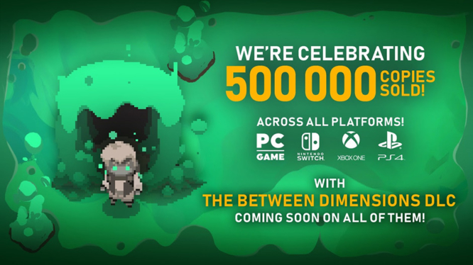 Moonlighter 500k DLC announcement