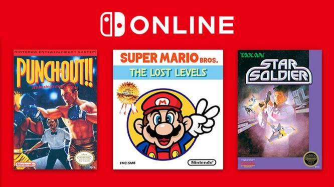 Nintendo Switch NES Game Online April 2019