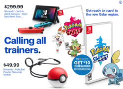 Best Buy Ad Poke Ball Plus with Sword and Shield