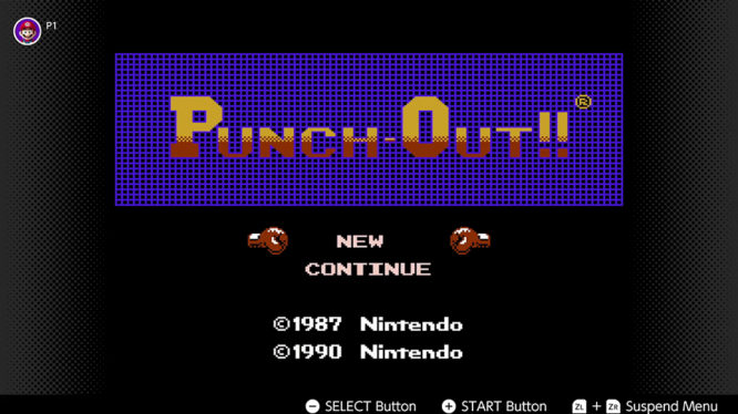 Punch Out Nintendo Switch NES
