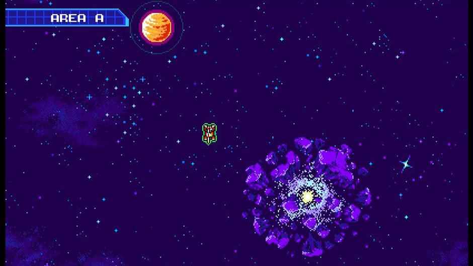 Blaster Master Zero 2 Space Map
