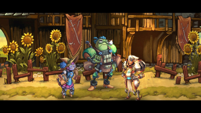 SteamWorld Quest Band of Heroes