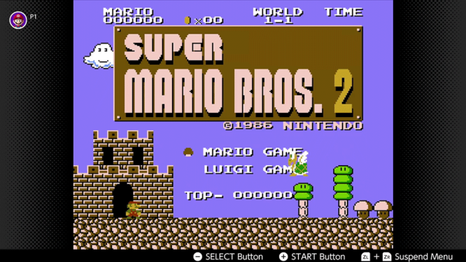SUper Mario: The Lost Levels Switch NES