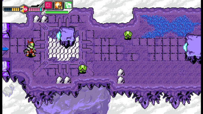 Top-down Dungeon Crawling Blaster Master Zero 2
