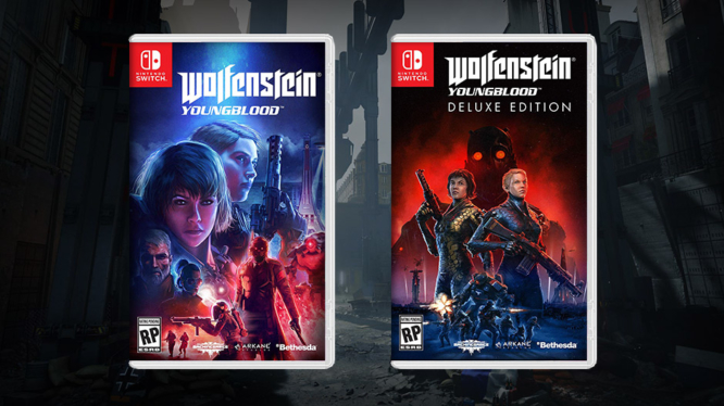 Physical Switch release of Wolfenstein Youngblood might be a