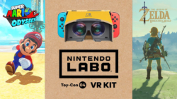 Zeld Breath of the Wild and Mario Odyssey VR compatible