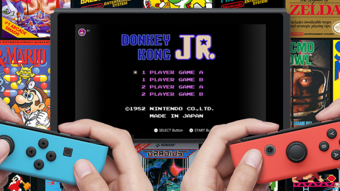 Switch Online Games NES May 2019 Donkey Kong Jr