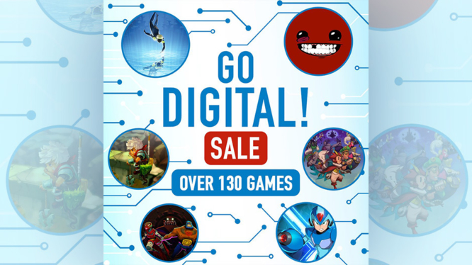 GO DIGITAL Sale Nintendo eShop Switch