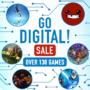 GO DIGITAL Sale Nintendo eShop Switch