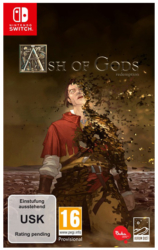 German Box Art for Ash of Gods: Redeption