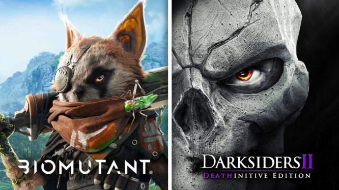 EB Games may have leaked Darksiders 2 and Biomutant for
