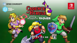 Cadence of Hyrule July Release month art