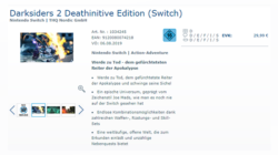 Darksiders 2 Deathinitive Edition Nintendo Switch Leak