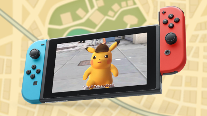 Detective Pikachu Sequel on Switch