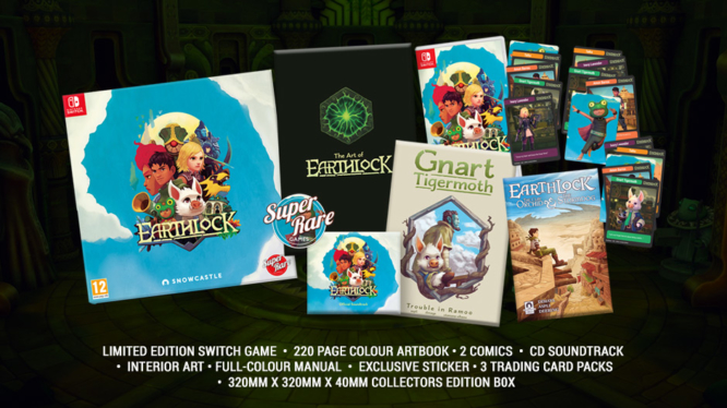 Earthlock's Collector's Edition Nintendo Switch