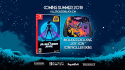 Killer Queen Black Nintendo Switch Game with Joy-Con Skin