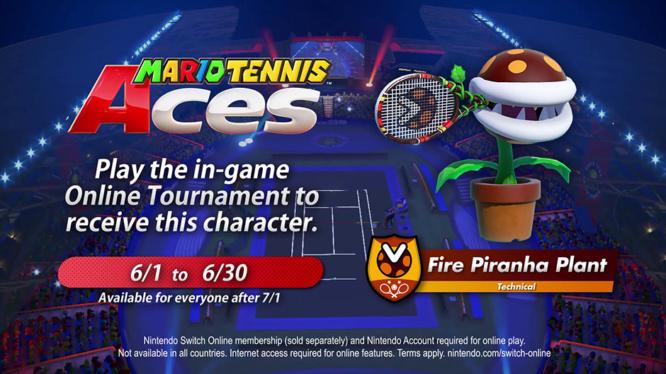 Piranha Plant Tournament Mario Tennis Aces
