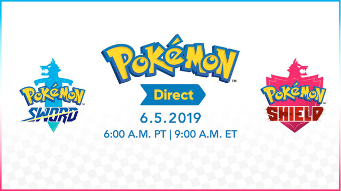 Pokemon Direct June 2019 featuring Pokemon Sword and Shield