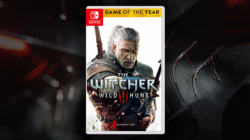 Witcher 2 WIld Hunt Nintendo Switch Box Art China