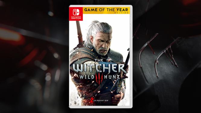 Witcher 2 WIld Hunt Nintendo Switch Box Art China