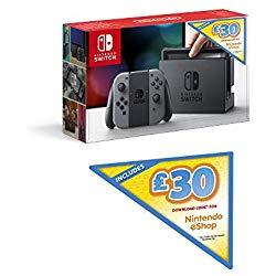 Amazon UK £30 eShop console bundle