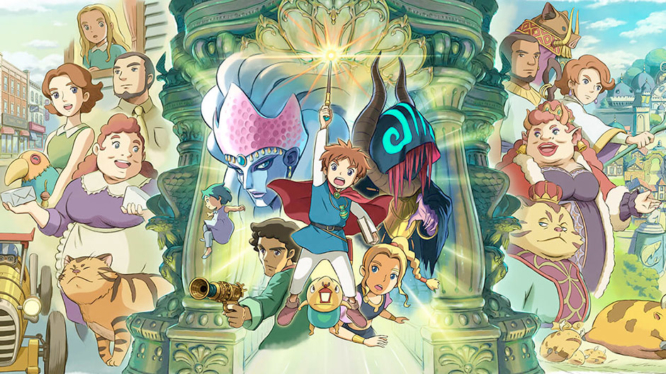 Ni No Kuni: Wrath of the White Witch leaked for Nintendo