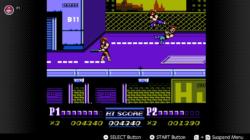 DOuble Dragon II Screenshot Switch