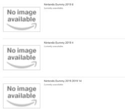 Nintendo DUmmy Listings on Amazon