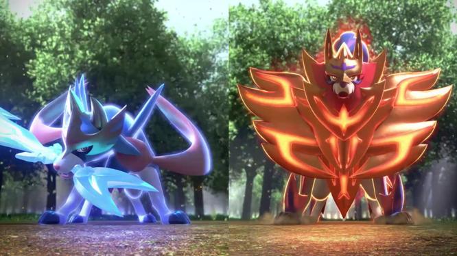 Pokemon Sword and Shield Legendary Pokémon