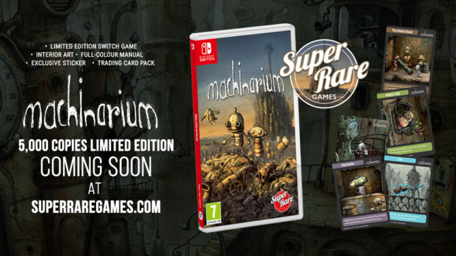 Machinarium Nintendo Switch physical Super Rare Games