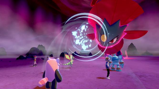 Max Raid Battle Pokemon Sword and Shield screenshot