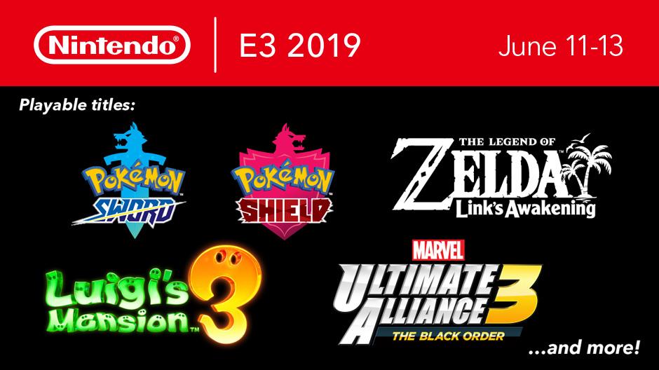 Nintendo E3 2019 Playable Switch Games