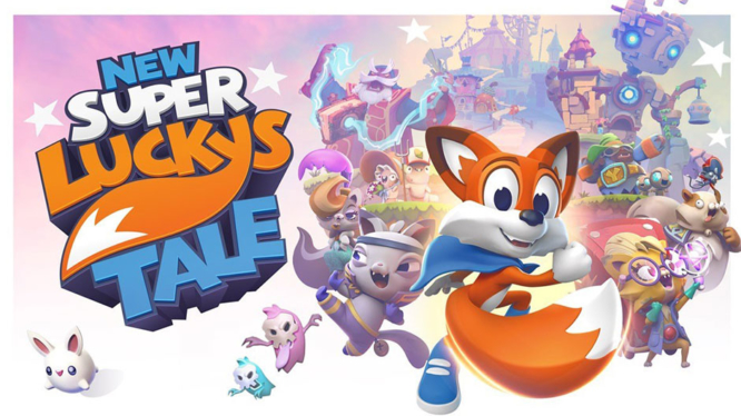 New Super Lucky's Tale on Nintendo Switch